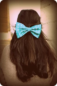 I've always wanted to be an adult with a huge bow in the back of my hair wait, No not really.