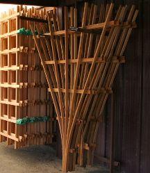 making a fan trellis DIY Outdoor Projects Pinterest Gardens