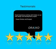 The team here at, ORAIKO, is thrilled to hear such good feedback, and look forward to reading more of your reviews. #WebDesign #WebDevelopment #InternetMarketing #SoftwareDevelopment #NYC #NewYorkCity #Design #Development #Coding #SocialMedia #SEO #PPC #eCommerce #ResponsiveWeb #MobileApplication #ContentManagementSystems
