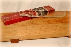 "Vintage ""CRYST-O-LITE"" Glass Knife SOLD For 17.50"