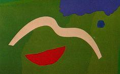 Sem Título 1986 | Aluísio Carvão óleo sobre tela 95.00 x 160.00 cm