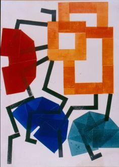 H.N. Werkman - Composition, 1928