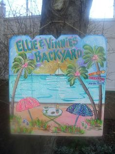 Backyard Signs, Patio Signs, Backyard Bar, Patio Bar, Outdoor Signs, Outdoor Ideas, Pool Rules Sign, Pool Signs, Beach Signs