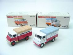 Tomica Limited Vintage TOYOTA ToyoACE Set of 2 Kitahara Motors electric ToysClub #TOYOTA