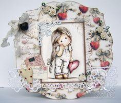Magnolia Cards by Kim Piggott: I Give You My Heart.....................