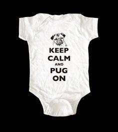 Pug onesie