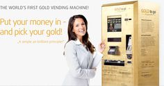 GOLD to go™ – The 1st Gold Vending Machine In The World - Real-time prices in a premium & elegant gift box: >>Goldbar 2.5, 5, 10, & 20 Gram >>Goldbar 1oz, 50,100, & 250 Gram >>Krugerrand Coin 1/10, 1/4, & 1 Ounce >>Kangaroo Coin 1/10, & 1 Ounce >>Maple Leaf Coin 1/10 Ounce >>American Silver Eagle 1 Ounce. An alternative product portfolio possible.