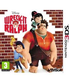 Wreck It Ralph - Nintendo 3DS Game.- for Tyler perhaps?
