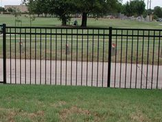 Simple Modern Fence Design For Front Railing And Gate Metal Garden Fencing Railings