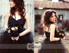 Noiva de preto: #black, #bride