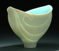 Beautiful carved porcelain by Antoinette Badenhorst ...