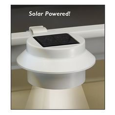 Solar Powered Gutter Light Easily Add Perimeter Solar Lighting—on to Your Gutters! This light with two bright, white, LEDs clamps securely onto a gutter, no tools or wiring needed. Automatically comes on at dusk, turns off at dawn. Light up entryways, walkways, your garage door—wherever you want, around your home. 2 or more $14.99 each