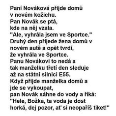 Paní Nováková přijde domů v novém kožichu Funny Memes, Jokes, Humor, Ouat Funny Memes, Chistes, Humour, Memes, Moon Moon, Funny Humor