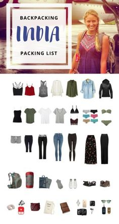 The Only Backpacking Through India Packing List You Need - Hippie In Heels
