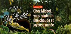 Chez Michel, vous souhaite une chaude et joyeuse année