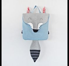 A Little Wolf backpack is the Forest Friends' project continuation. The backpack is perfect for little kids. It will serve well in kindergarten, on a trip or at a playground. It will fit the...