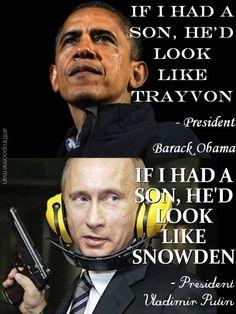 Quote To Quote – Obama vs. Putin