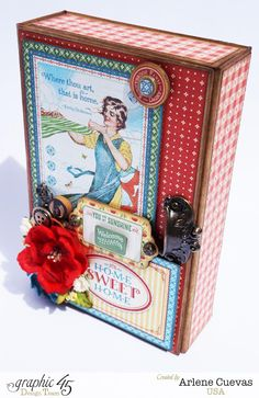 Butterfly Kisses & Paper Pretties: Home Sweet Home Album and Altered Box