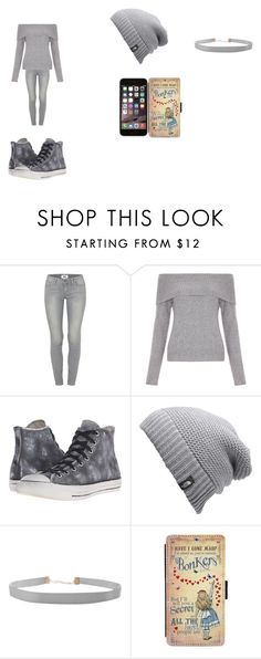 """RANDOM OUFIT DIPSTICK"" by alexisgladiator on Polyvore featuring Paige Denim, New Look, Converse, The North Face, Humble Chic, Samsung, grey, madhatter and AllTheBestPeopleAreCrazy"