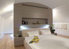 Scheidingswand tussen slaapkamer en inloopkast | Slaapkamer ideeën