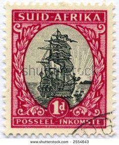 Mundo de sello añejo ephemera África