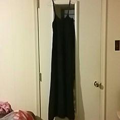 Selling this Black maxi dress in my Poshmark closet! My username is: nsherman92. #shopmycloset #poshmark #fashion #shopping #style #forsale #Solow #Dresses & Skirts