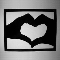 Heart Paper Cutting, Paper Art, $45