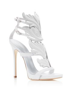 Giuseppe Zanotti Wing Caged High Heel Sandals