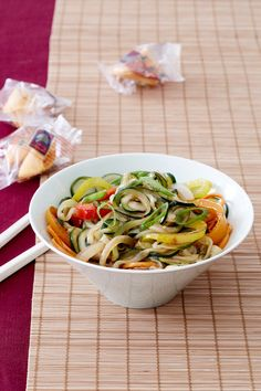 "Back away from the takeout menu: Nutritionist Joy Bauer shares her recipes for good-for-you lo mein and cauliflower buffalo ""wings."""
