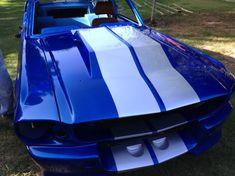 """1967 Ford Mustang Custom Resto-Mod """"Blue Boss""""!"""
