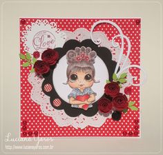 Luciana Yaros Scrapbooking: Lots of Love