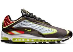 huge discount 1e242 21ef4 Buy and sell authentic Air Max Deluxe Black Volt Habanero Red shoes and  thousands of other Nike sneakers with price data and release dates.