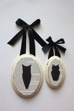 till death do us part: Black and White Fall: Owl Art