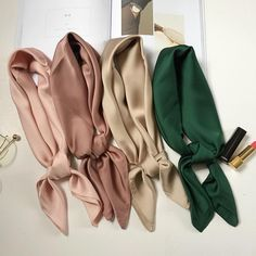 luxury brand bags SCARF women's silk scarf fashion lady square scarves soft shawls pashmina solid color bandana-in Women's Scarves from Apparel Accessories on AliExpress Hairband, Pijamas Women, Silk Bandana, Boutique Fashion, Accesorios Casual, Pashmina Scarf, Square Scarf, Silk Scarves, Aliexpress