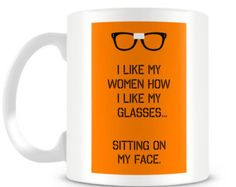 Orange is the New Black Alex Vause Glasses mug design.