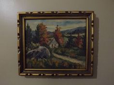Oil Painting - Signed