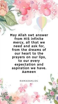 May Allah swt answer from HIS infinite mercy, all that we need and ask for, from the dreams of our heart to the prayers on our lips, to our every expectation and aspiration we have. Islamic Quotes Wallpaper, Allah Wallpaper, Islamic Quotes In English, Love My Husband Quotes, Ramadan Images, Jumma Mubarak Quotes, Value Quotes, Black Women Quotes, Assalamualaikum Image