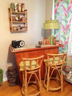 Tiki bar corner -- might have to start with this, then build up on that