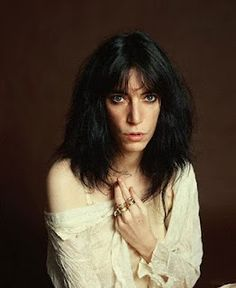 Patti Smith - such a strong songstress but offers complicated view of feminism