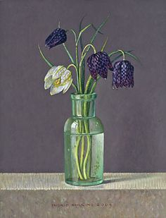 De witte kievietsbloem 2009 (20 x 15 cm)