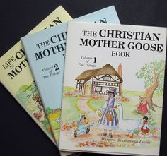 The Christian Mother Goose Trilogy by Marjorie A. Decker 3 HBDJ books