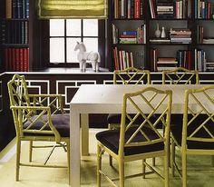 Bamboo-look furniture