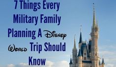 7 Things Every Military Family Planning A Disney World Trip Should Know About - Army Wife 101 Plan Disney World Trip, Disney World Tickets, Disney Time, Disney World Florida, Disney World Vacation, Disney Vacations, Disney Parks, Disney 2015, Family Vacations