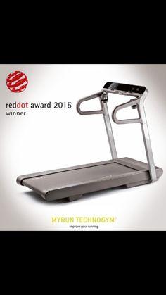 2015 Red Dot Design ödülü MyRun Technogym'in