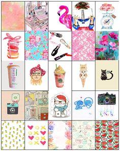 XOXO Shayla Jo: Erin Condren Box Sticker Freebies