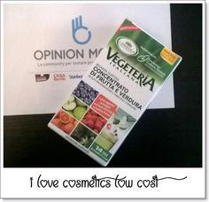 I Love Cosmetics low cost and more... : SONO STATA SCELTA COME TESTER DI.... Vegeteria Italiana concentrato di frutta e verdura L'ANGELICA