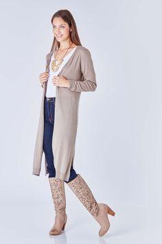 Vero Moda Rose Longline Cardigan - Shop for women's Cardigan ...