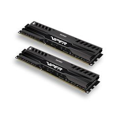Amazon.com: Patriot Viper 3 Series, Black Mamba, DDR3 8GB (2 x 4GB) 1600MHz Dual Channel Kit (PV38G160C9K): Computers & Accessories