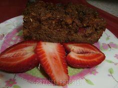 Ciasto drożdżowo- czekoladowe z truskawkami Strawberry, Fruit, Food, Essen, Strawberry Fruit, Meals, Strawberries, Yemek, Eten