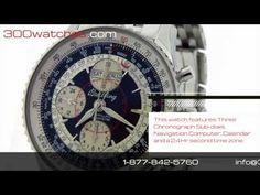 #Breitling A21330 #Navitimer Montbrillant Datora Chronograph #Watch